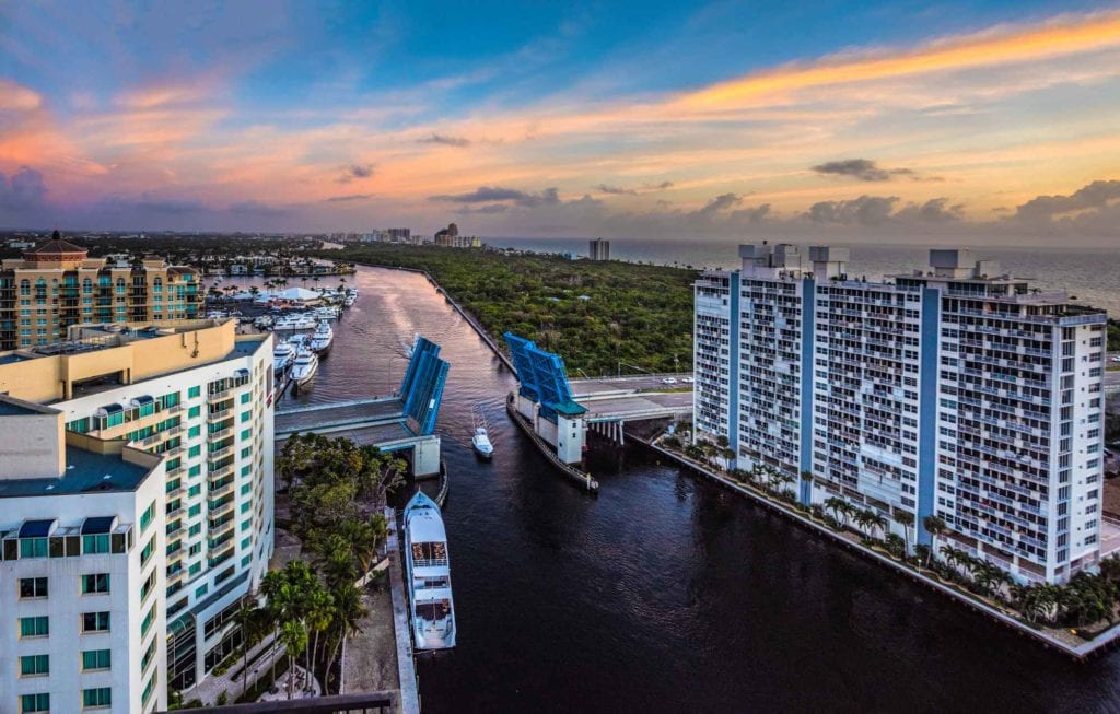 Waterfront condo in Fort Lauderdale