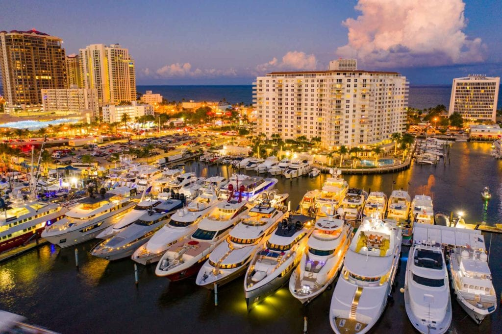 luxury yachts fort lauderdale